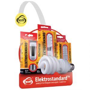 POS материал Elektrostandard Воблер Энергосберегающие лампы