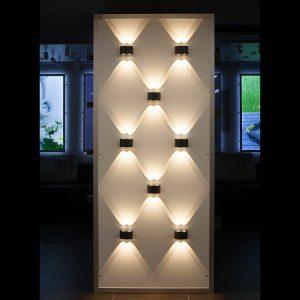 POS-материал Elektrostandard Панель настенная для светильников Twinky Double