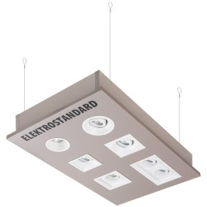 POS-материал Elektrostandard Подвесной стенд для встраиваемых точечных светильников