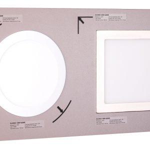 POS-материал Elektrostandard Секция для сборного стенда: встраиваемые светодиодные светильники Downlight