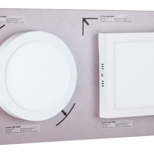 POS-материал Elektrostandard Секция для сборного стенда: 2 накладных Downlight - DLR020