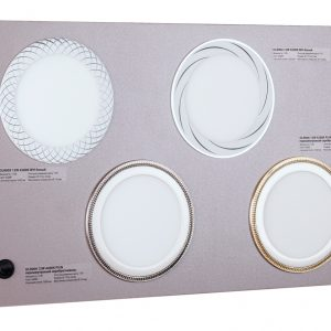POS-материал Elektrostandard Секция для сборного стенда: 4 встраиваемых Downlight - DLR004