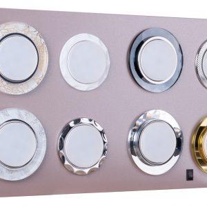 POS-материал Elektrostandard Секция для сборного стенда: 8 отверстий GX53 (без комплектации)
