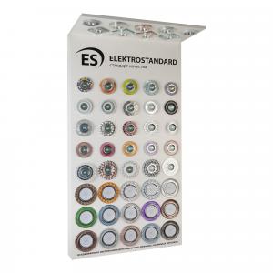 POS-материал Elektrostandard Стенд для точечных светильников настенный с козырьком (ДСП Белый)