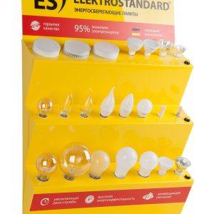 POS-материал Elektrostandard Стенд для энергосберегающих ламп настенный